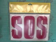 Sos-Ok Safety Board For Competition Or Road Side Help